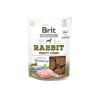 Brit Jerky Rabbit Meaty Coins