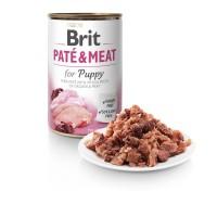 Brit Care Dog Chicken&Turkey for Puppy Pate & Meat