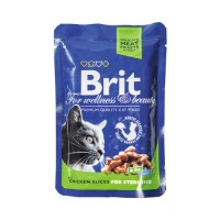 Brit Premium Sterilised Chicken Slices