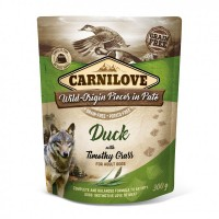 Carni Love Pate Duck with Timothy Grass