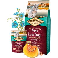 CARNI LOVE Cat Fresh Carp & Trout Sterilised
