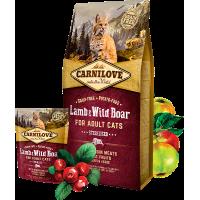 CARNI LOVE Cat Lamb & Wild Boar Sterilised