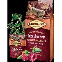 CARNI LOVE Cat Large Breed Duck & Turkey
