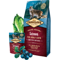 CARNI LOVE Cat Salmon Sensitive & Long Hair