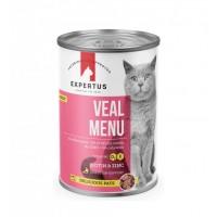 Expertus Cat Veal Menu