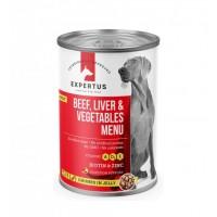 Expertus Dog Beff , Liver&Vegetables Menu