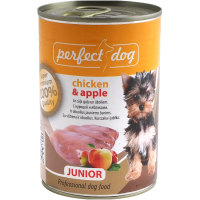 Perfect Dog Junior Chicken & Apple