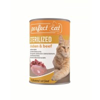 Perfect Cat Sterilized Chicken & Beef