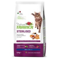 TRAINER NATURAL Cat Sterilised Salmon