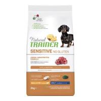 NATURAL TRAINER Adult Mini Sensitive No Gluten Lamb